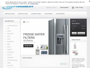Fridge water filter bl9808 - designed for LG brand